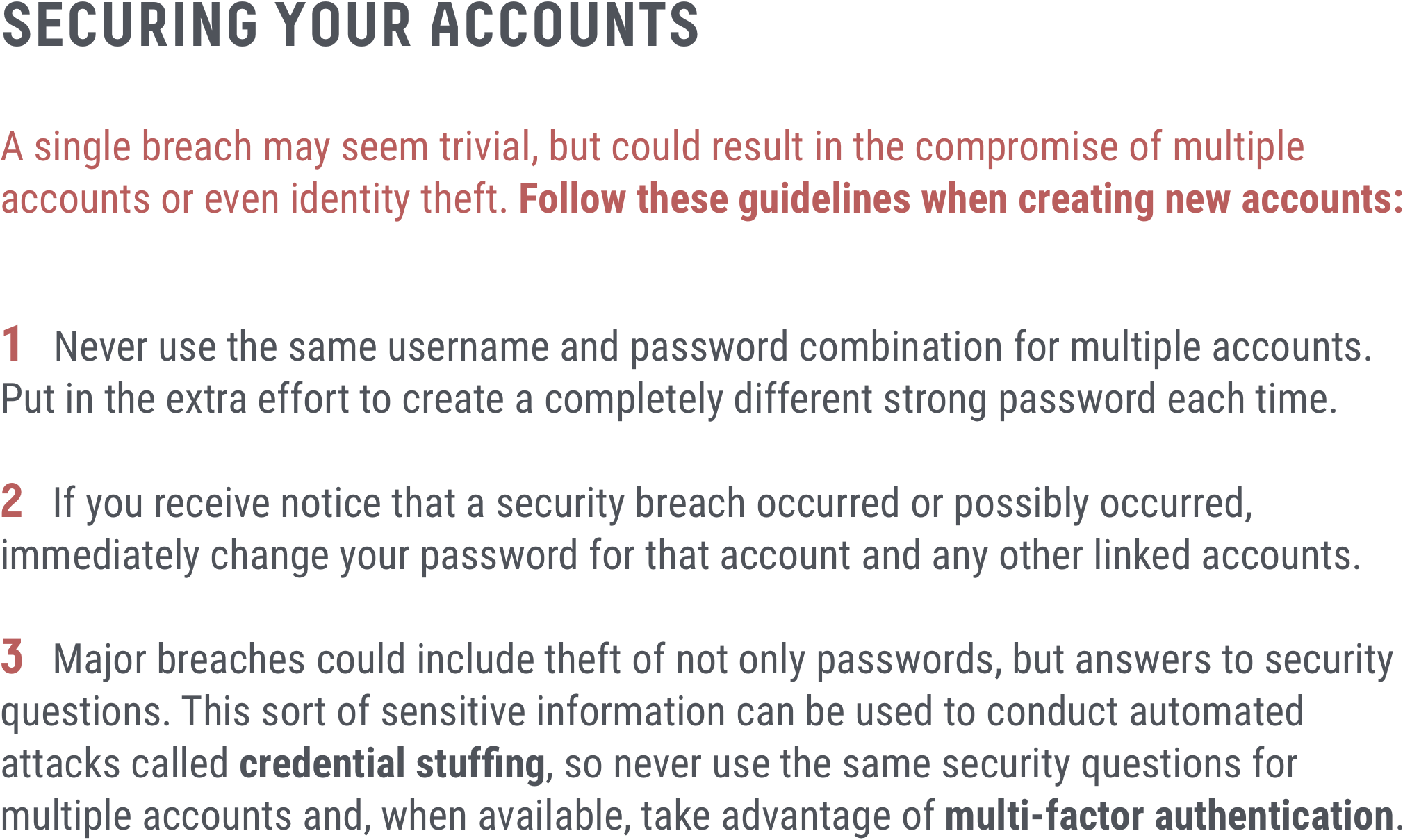 Security Tips Graphic